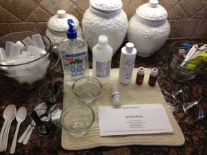 hand sanitizer ingredients