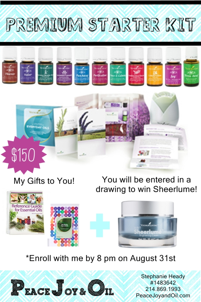 Premium Starter kit August incentive